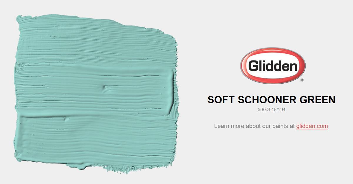 Soft Schooner Green Paint Color Glidden Paint Colors
