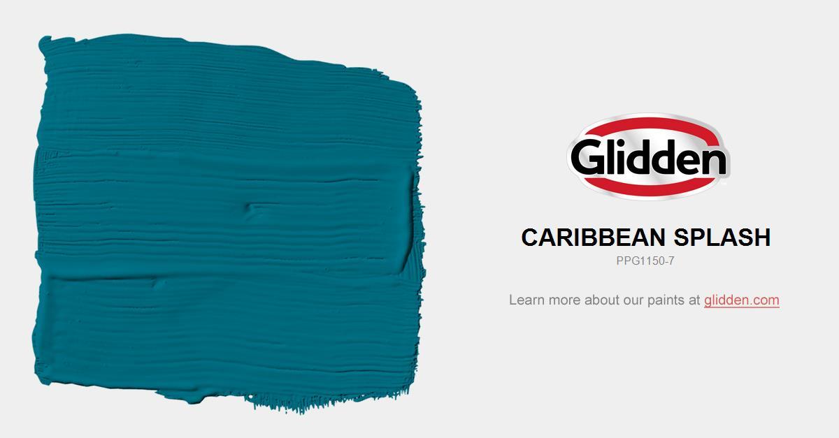 Caribbean Splash Paint Color Glidden Paint Colors
