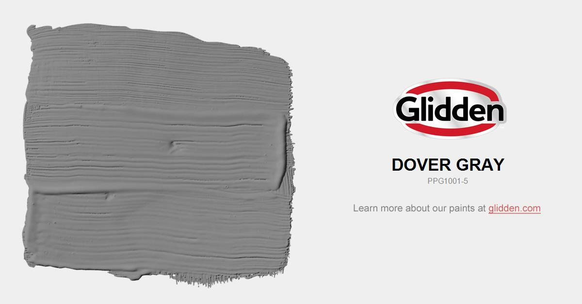 Dover Gray Paint Color Glidden Paint Colors