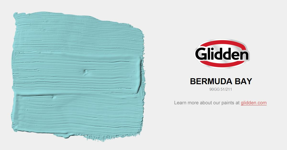 Paint Bay Color Bermuda Glidden Colors 0wvNnm8