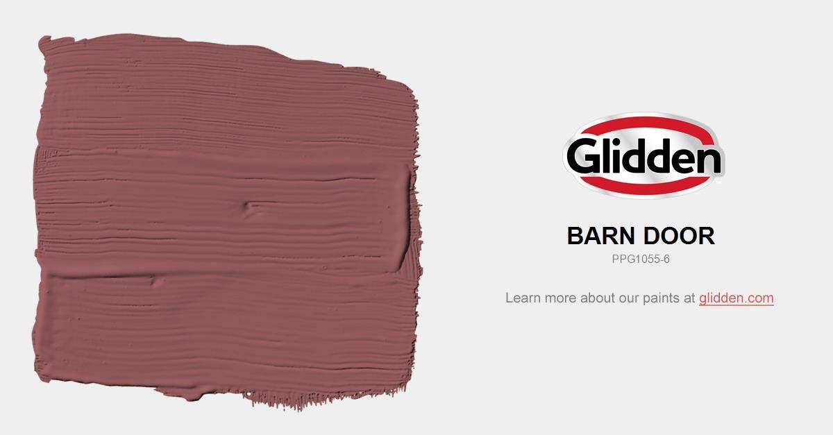 sc 1 st  Glidden Paint & Barn Door Paint Color - Glidden Paint Colors