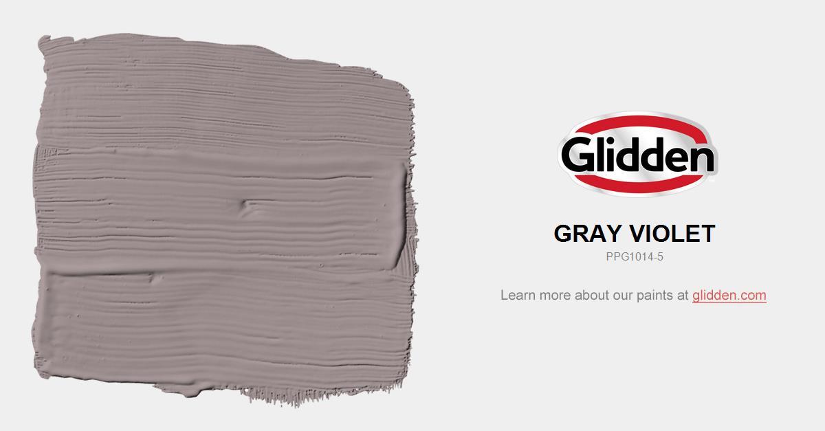 Gray Violet Paint Color Glidden