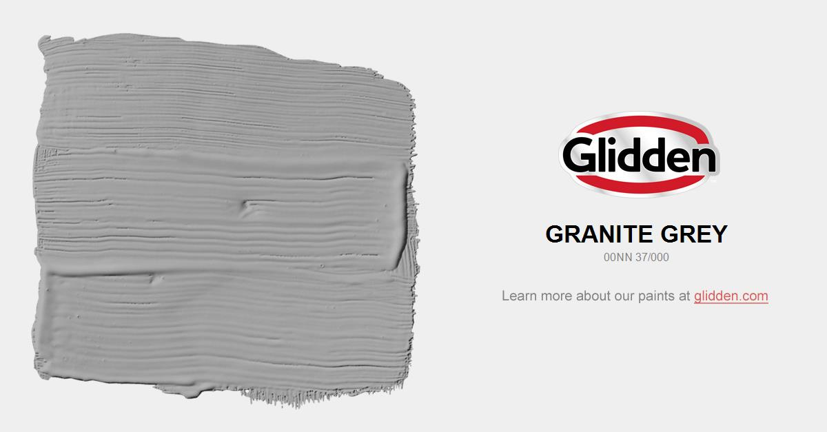 Granite Grey Paint Color Glidden Paint Colors