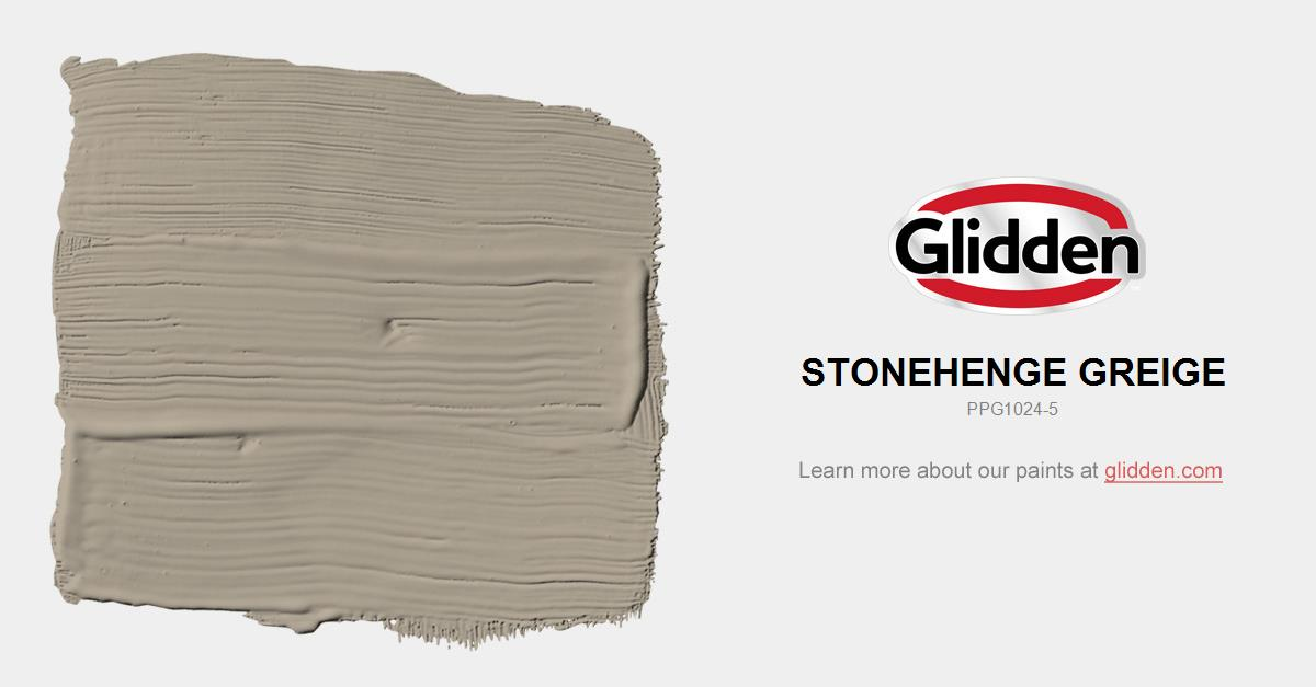Stonehenge Greige Paint Color Glidden Paint Colors