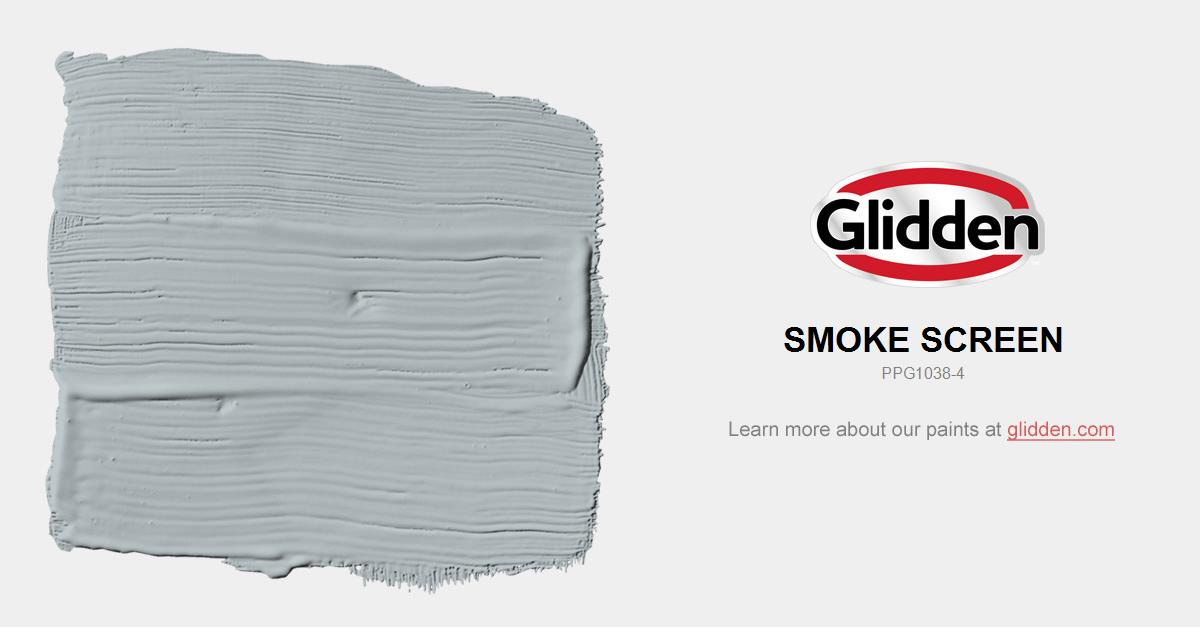 Smoke Screen Paint Color Glidden Colors