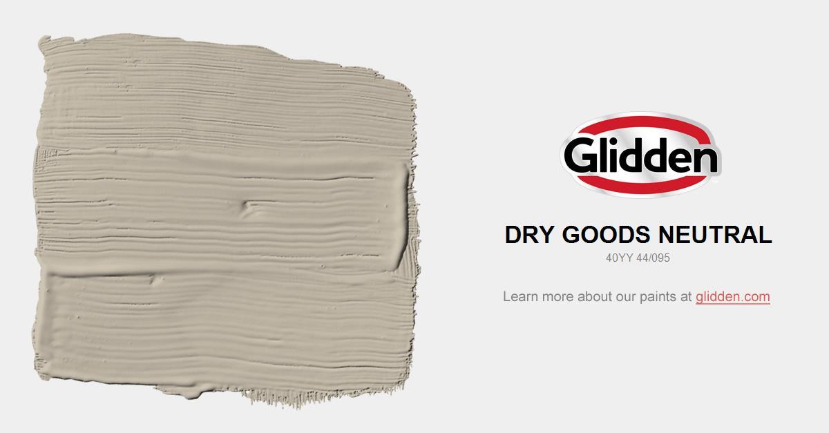 Dry Goods Neutral Paint Color Glidden Paint Colors