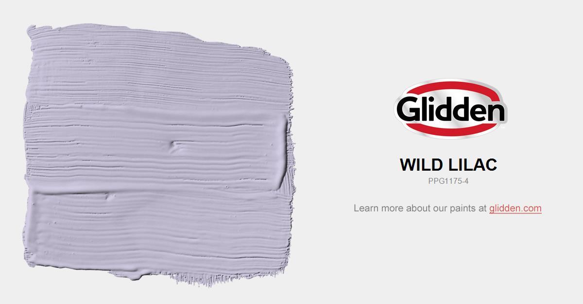 Wild Lilac Paint Color Glidden Paint Colors
