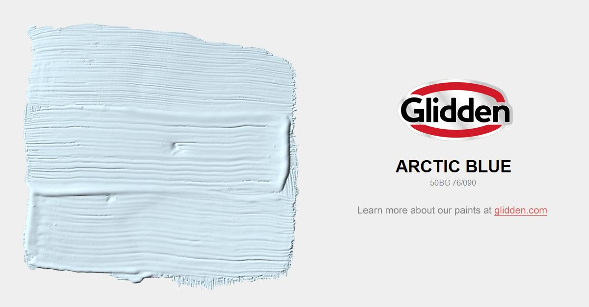 Arctic Blue Paint Color Glidden Paint Colors