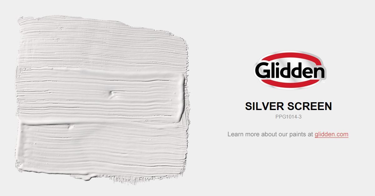 Silver Screen Paint Color Glidden