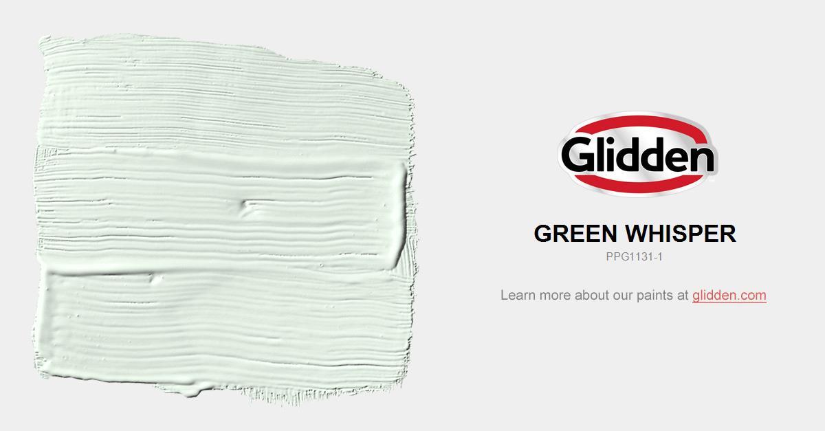 41369e649227 Green Whisper Paint Color - Glidden Paint Colors