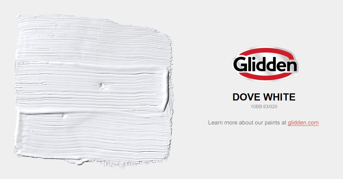 Dove White Paint Color Glidden Paint Colors