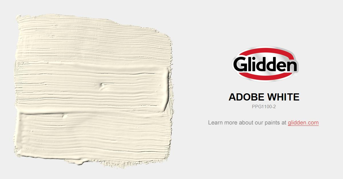 Adobe White Paint Color Glidden Paint Colors