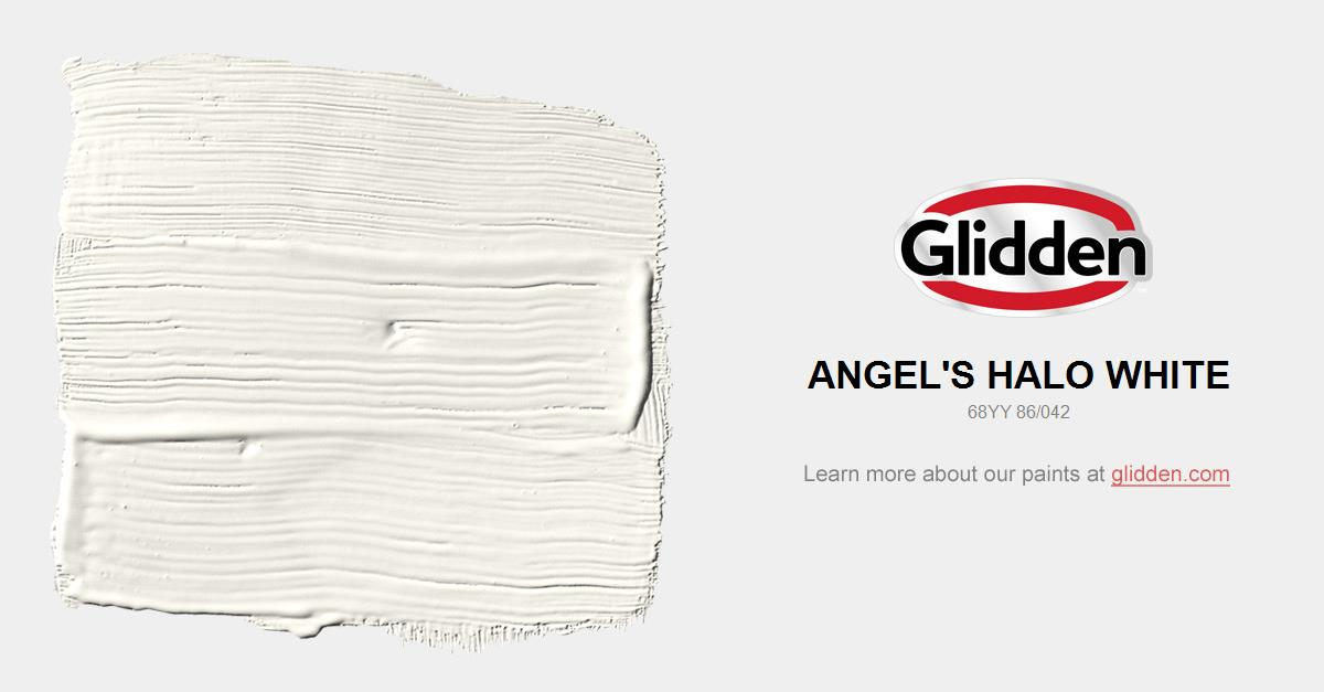 Angel\'S Halo White Paint Color - Glidden Paint Colors