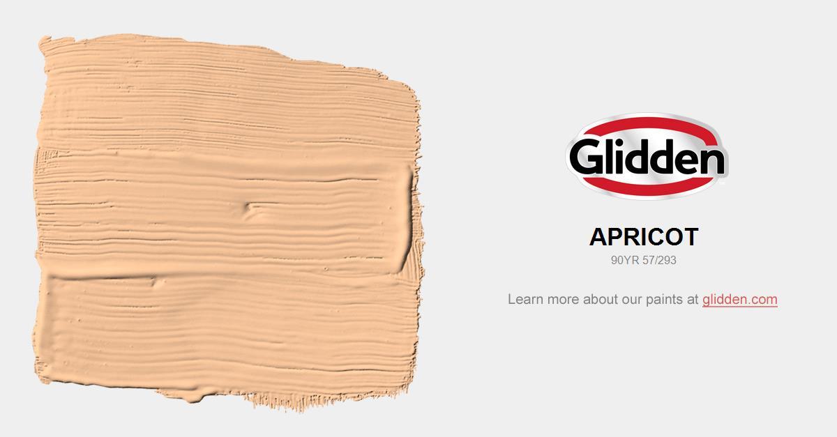 Apricot Paint Color - Glidden Paint Colors