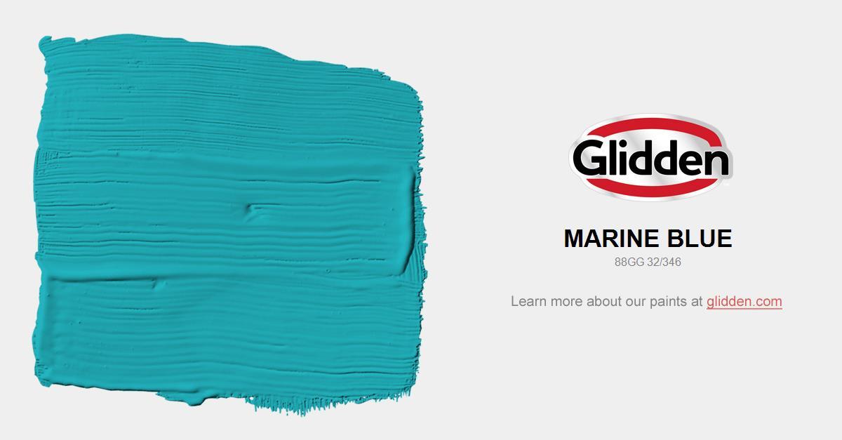 Marine Blue Paint Color Glidden Colors