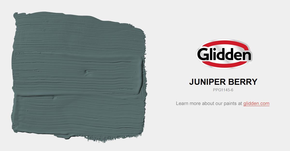 Juniper Berry Paint Color - Glidden Paint Colors