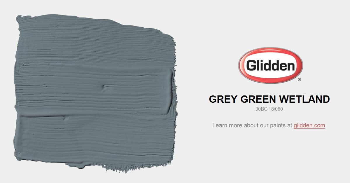 Grey Green Paint grey green wetland paint color - glidden paint colors