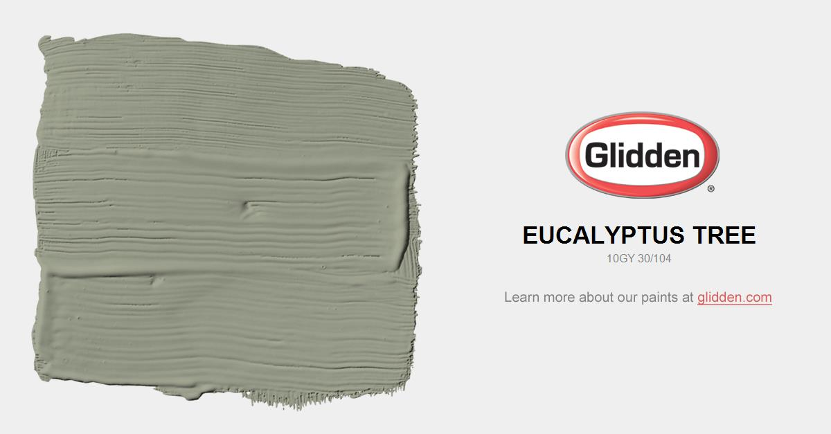 Eucalyptus Tree Paint Color Glidden Paint Colors