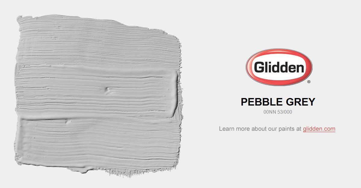 Pebble Grey Paint Color - Glidden Paint Colors