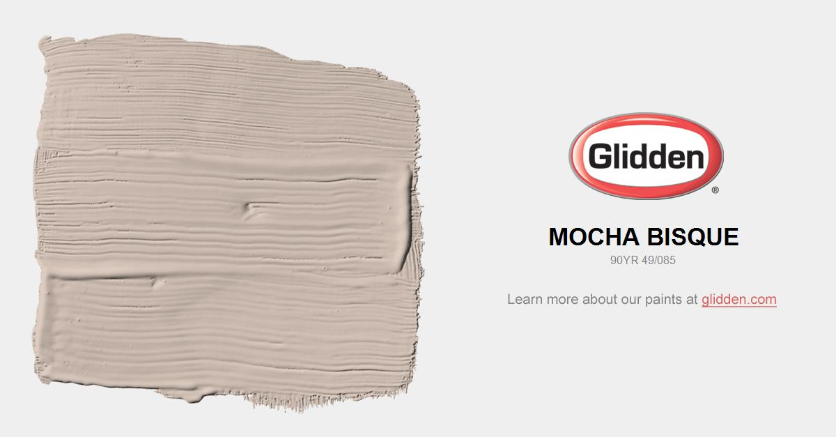 Mocha Paint Colors mocha bisque paint color - glidden paint colors