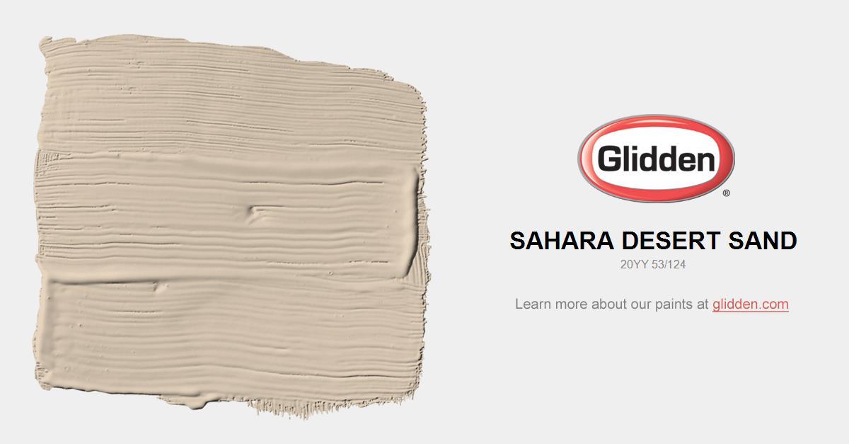 Sahara Desert Sand Paint Color Glidden Paint Colors