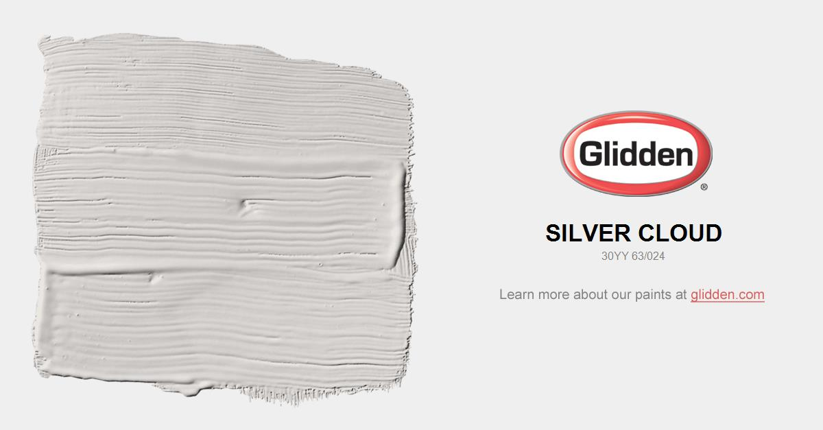 Silver Cloud Paint Color Glidden Paint Colors