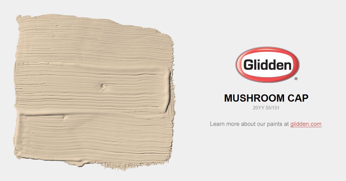 mushroom paint colorMushroom Cap Paint Color  Glidden Paint Colors