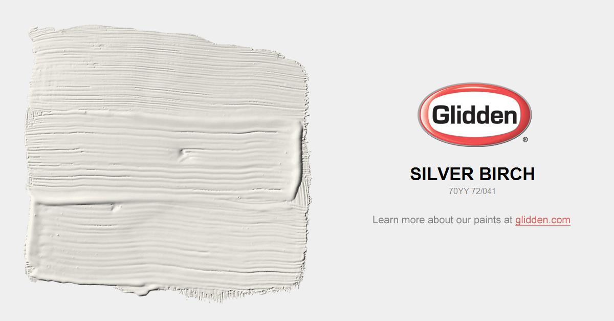Silver Birch Paint Color Glidden Paint Colors