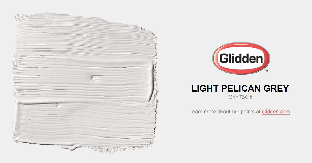 Light Grey Paint light pelican grey paint color - glidden paint colors