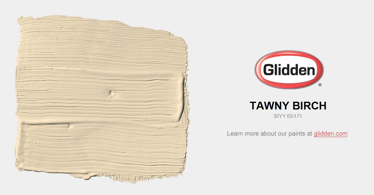 Tawny Birch Paint Color Glidden Paint Colors