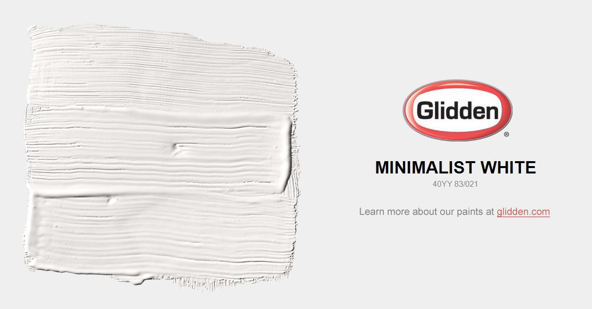 Minimalist white paint color glidden paint colors - Best exterior paint colors minimalist ...