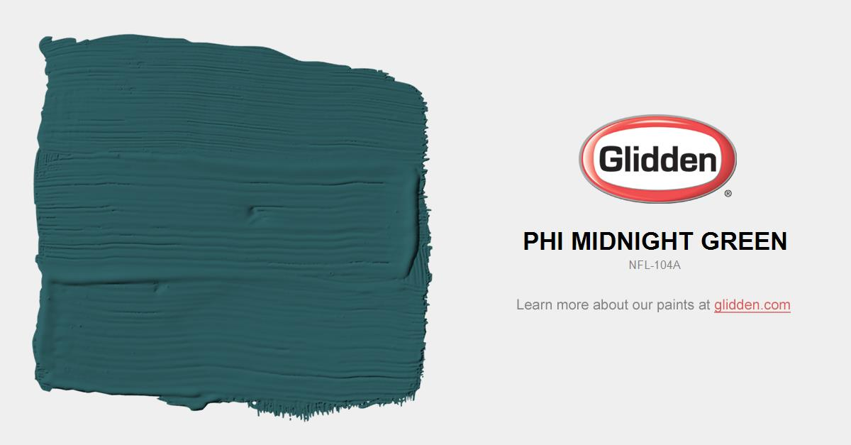 Philadelphia Eagles Team Colors Paint